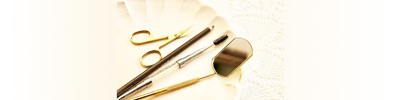 美眉スタイリングの道具